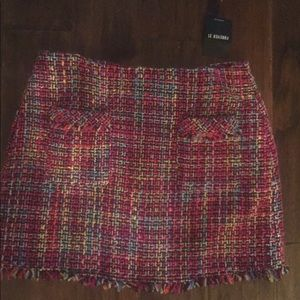 Cute Knit Mini Skirt! Tag attached! Forever 21!!